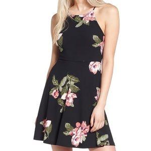 Lush Ava Skater Dress Size S